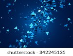 abstract 3d rendering of... | Shutterstock . vector #342245135