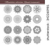 set of abstract design element. ... | Shutterstock .eps vector #342260981