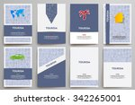 corporate identity vector... | Shutterstock .eps vector #342265001