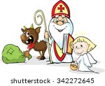 Saint Nicholas  Devil And Ange...