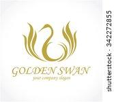 swan logo | Shutterstock .eps vector #342272855