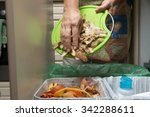 household waste sorting and... | Shutterstock . vector #342288611