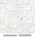 mega set of geomeric company... | Shutterstock . vector #342290441