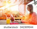 portrait of a young successful... | Shutterstock . vector #342309044