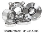 group bearings and rollers ... | Shutterstock . vector #342316601