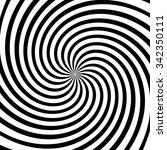 spiral  vortex  swirl or twirl... | Shutterstock .eps vector #342350111