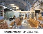 motion blur of passengers... | Shutterstock . vector #342361751