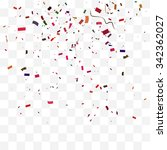 abstract background with many... | Shutterstock .eps vector #342362027