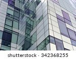detail of modern building... | Shutterstock . vector #342368255