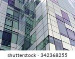 detail of modern building...   Shutterstock . vector #342368255