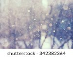 blurred abstract background.... | Shutterstock . vector #342382364