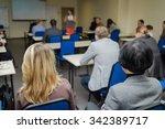 informatics workshop at... | Shutterstock . vector #342389717