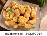 fried potatoes with rosemary...