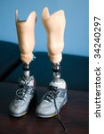 Artificial Legs Await Fitting...