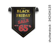 black friday sale vector icon...   Shutterstock .eps vector #342434135