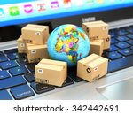 shipping  delivery and logistic ... | Shutterstock . vector #342442691