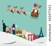 Santa Claus Travel Around...