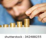 savings  beard business man... | Shutterstock . vector #342488255