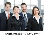 business team | Shutterstock . vector #34249594