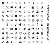 medicine icons set.  | Shutterstock . vector #342506339