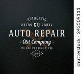 crossed adjustable wrench.... | Shutterstock .eps vector #342509111