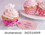 Pink Valentine Cupcakes With...