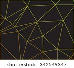 abstract colorful outline of... | Shutterstock .eps vector #342549347