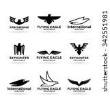 eagles  22  | Shutterstock .eps vector #342551981