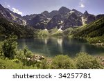 Morskie Oko Lake In Polish...
