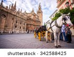 Horse Carriage In Seville  The...