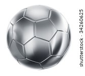 3d Rendering Of A Soccerball I...