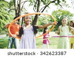 child children childhood fun... | Shutterstock . vector #342623387