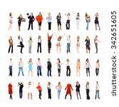 people diversity teamwork... | Shutterstock . vector #342651605
