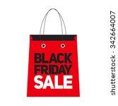 black friday sale label... | Shutterstock . vector #342664007