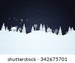 winter background with textured ...