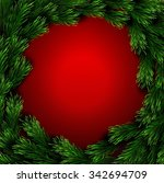 christmas greeting card | Shutterstock . vector #342694709
