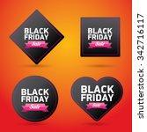 black friday sales tag. vector...   Shutterstock .eps vector #342716117