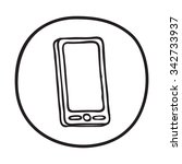Handdrawn Telephone Icon - 8431 - Dryicons