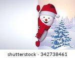Winter Greetings  Snowman...