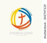 logo of the church. trinity | Shutterstock .eps vector #342747125