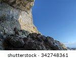 rocks in crimea | Shutterstock . vector #342748361