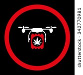 drugs drone delivery vector...   Shutterstock .eps vector #342770981