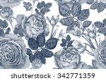 vintage vector seamless pattern....