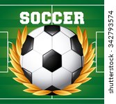 sport concept with champions... | Shutterstock .eps vector #342793574