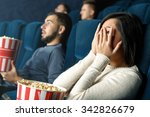 horror movies are for brave... | Shutterstock . vector #342826679