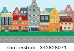 flat color illustration of a... | Shutterstock .eps vector #342828071