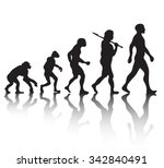 evolution | Shutterstock .eps vector #342840491