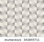 vector seamless black and white ... | Shutterstock .eps vector #342845711