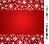 christmas background with... | Shutterstock . vector #342849014