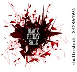 black friday sale abstract... | Shutterstock .eps vector #342864965
